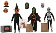 "Halloween 3 - Season of the Witch 8"" Action Figure 3-pack 