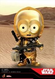 Star Wars - C-3PO Episode IX Rise of Skywalker Cosbaby
