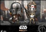 Star Wars: Mandalorian - The Mandalorian & IG-11 Cosbaby Set | Merchandise
