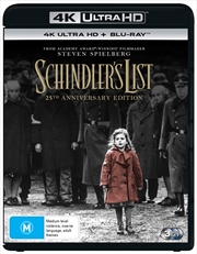 Schindler's List - 25th Anniversary Edition | Blu-ray + UHD