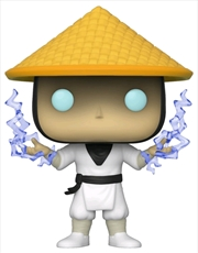 Mortal Kombat - Raiden with Lightning US Exclusive Pop! Vinyl [RS] | Pop Vinyl