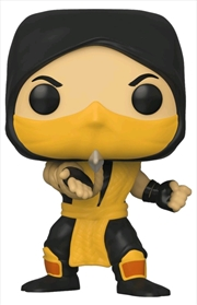 Mortal Kombat - Scorpion Pop! Vinyl | Pop Vinyl