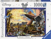 Disney Memories: The Lion King Collector's Edition 1000 Piece Puzzle | Merchandise