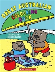 Great Australian Colouring Book | Paperback Book