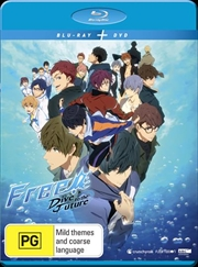 Free! - Dive To The Future - Season 3 - Eps 1-12 - Limited Edition | Blu-ray + DVD | Blu-ray/DVD
