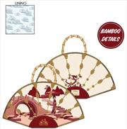 Mulan - Bamboo Fan Handbag | Apparel