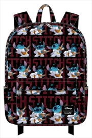 Lilo and Stitch - Stitch Elvis Print Backpack | Apparel
