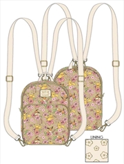 Pokemon - Eevee and Pikachu Converible Mini Backpack   Apparel