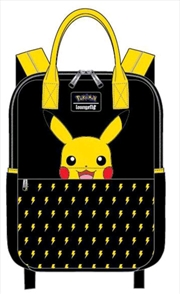 Pokemon - Pikachu Lightning Bolt Backpack   Apparel