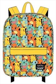 Pokemon - Starters Backpack   Apparel