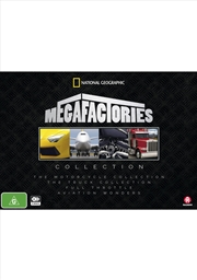Megafactories Boxset - Sanity Exclusive | DVD