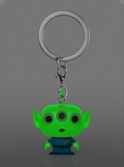 Toy Story 4 - Alien Glow US Exclusive Pocket Pop! Keychain [RS]