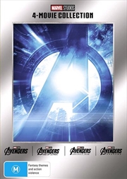 Avengers Quadrilogy - 4 Movie Collection | DVD