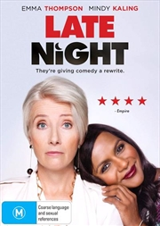 Late Night | DVD