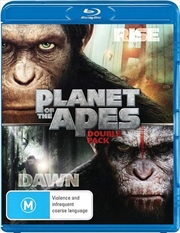 Rise Of The Planet Of The Apes / Dawn Of The Planet Of The Apes | Blu-ray