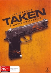 Taken / Taken 2 / Taken 3 - Art Line Look | DVD