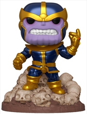 "Marvel - Thanos Infinity Saga Metallic 80th Anniversary US Exclusive 6"" Pop! Deluxe 