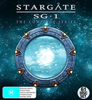 Stargate SG-1 - Season 1-10 | + 2 Movies + Bonus | DVD