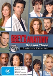 Grey's Anatomy - Season 03 | DVD