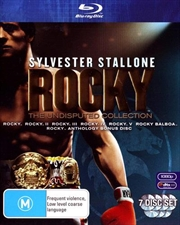 Rocky - The Undisputed Collection Boxset | Blu-ray