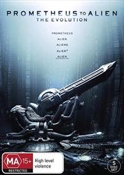 Prometheus To Alien - The Evolution | DVD