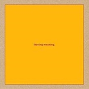 Leaving Meaning | CD