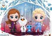Frozen II - Elsa, Anna, Olaf & Salamander Cosbaby Set   Merchandise