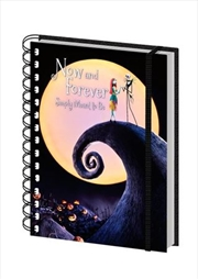 Nightmare Before Christmas - Now And Forever A5 Spiral Notebook | Merchandise