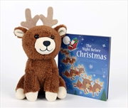 Night Before Christmas - Book And Plush | Hardback Book