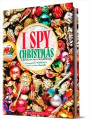 I Spy Christmas: A Book of Picture Riddles | Hardback Book