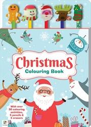 Christmas 5 Pencil Set | Paperback Book