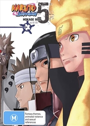 Naruto Shippuden Hokage - Box 5 - Eps 416-500 | DVD