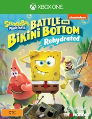 Spongebob Squarepants Battle for Bikini Bottom Rehydrated | XBox One