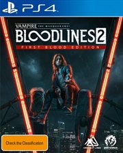Vampire: The Masquerade Bloodlines 2 First Blood Edition | PlayStation 4