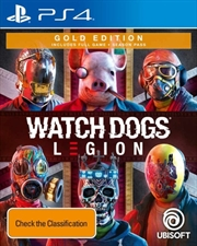 Watch Dogs Legion: Gold Edition | PlayStation 4