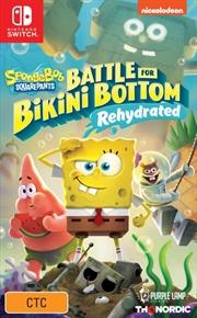 Spongebob Squarepants Battle for Bikini Bottom Rehydrated | Nintendo Switch