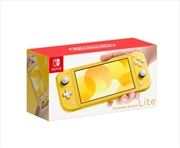 Nintendo Switch Console Lite Yellow | Nintendo Switch