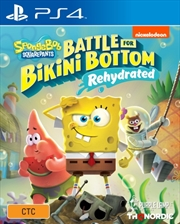 Spongebob Squarepants Battle for Bikini Bottom Rehydrated | PlayStation 4