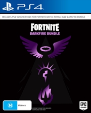 Fortnite Darkfire Bundle | PlayStation 4
