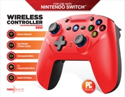 Powerwave Switch Wireless Controller Red | Nintendo Switch