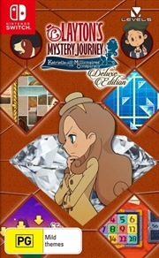 Laytons Mystery Journey Katrielle and the Millionaires Conspiracy Deluxe Edition | Nintendo Switch