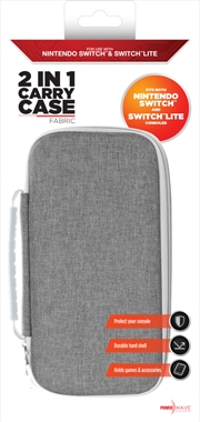Powerwave Switch 2 in 1 Case Fabric | Nintendo Switch