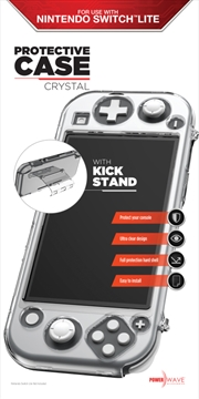Powerwave Switch Lite Crystal Protective Case with Kick Stand | Nintendo Switch