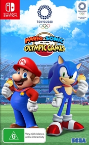 Mario and Sonic at the Olympic Games Tokyo 2020 | Nintendo Switch