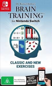Dr Kawashimas Brain Training | Nintendo Switch
