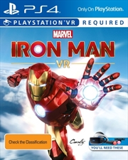 Iron Man Vr | PlayStation 4