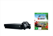 Xbox One Console X with Forza Horizon 4 and LEGO Speed Champions DLC | XBox One