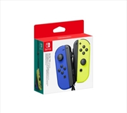 Nintendo Switch Joy Con Blue and Neon Yellow Pair Controller | Nintendo Switch