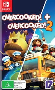 Overcooked And Overcooked 2 | Nintendo Switch