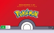 Pokemon - Season 1-21 | Collection | DVD